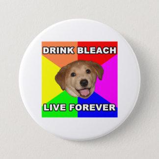 Advice Dog Pinback Button