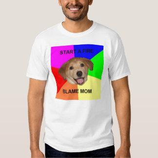 Advice dog t shirt