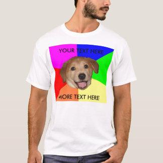 Advice dog template T-Shirt