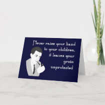 Advice for Dads Greeting Card