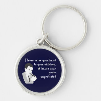Advice for Dads Keychain