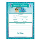 Advice for Mommy Baby Shower Cards