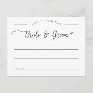words of wisdom for bride and groom