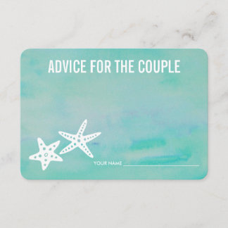 Advice for the Couple | Starfish Aqua