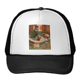 Advice from A Caterpillar Trucker Hat
