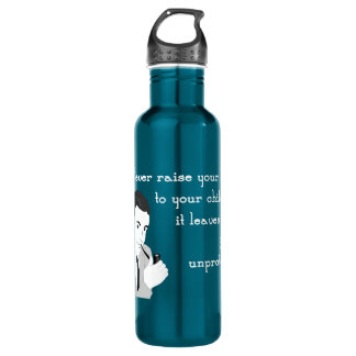 Advice from a Retro Dad Stainless Steel Water Bottle