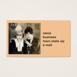 Advice from Mom Business Card