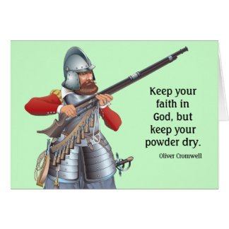 Advice from Oliver Cromwell Card