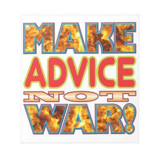 Advice Make X Scratch Pad