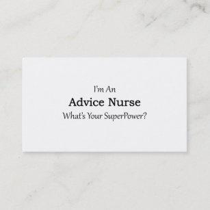 Rn registered nurse business cards zazzle advice nurse business card colourmoves