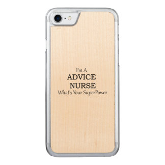 Advice Nurse Carved iPhone 8/7 Case