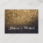 "Advice & Wishes Wedding Cards<br><div class=""desc"">Glitter Lit Nite Cards for wedding guests to leave advice and wishes,  change background color and text to suit your occasion. Place on a table at the reception.</div>"