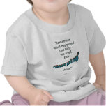 Advierta al Burping al bebé Camiseta
