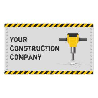 Advierta la construcción de la cinta y cree la tar tarjetas de visita