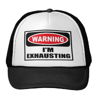 Advirtiendo ESTOY AGOTANDO el gorra