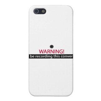 ADVIRTIENDO para los mentirosos, los tramposos, iPhone 5 Funda
