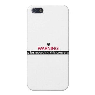 ADVIRTIENDO para los mentirosos, los tramposos, lo iPhone 5 Funda
