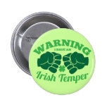 ¡ADVIRTIENDO tengo un genio irlandés! de irlandés  Pin