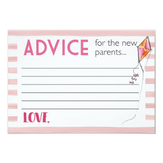 Advise for new parents card
