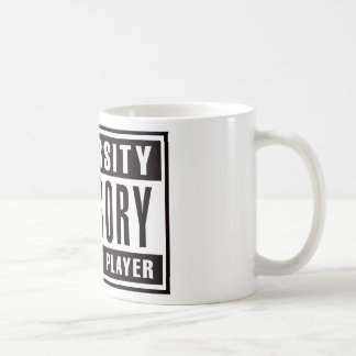 Advisory Beer Pong Player Classic White Coffee Mug