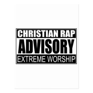 Advisory cristiano del rap… postal