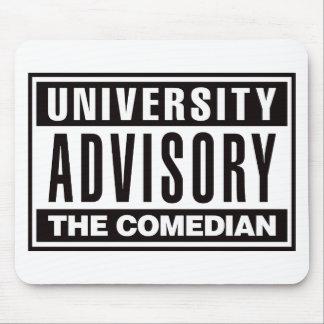 Advisory de la universidad el cómico mouse pads