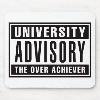 Advisory de la universidad el cumplidor excesivo tapete de raton