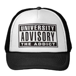 Advisory el adicto gorro de camionero