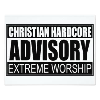 "Advisory incondicional cristiano… invitación 4.25"" x 5.5"""