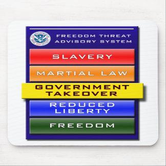 Advisory Mousepad de la amenaza de la libertad