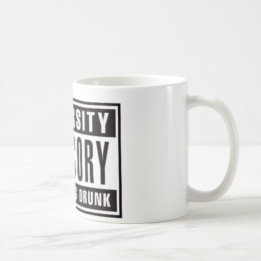 Advisory The Crying Drunk Coffee Mug
