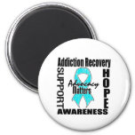 Advocacy Matters Addiction Recovery Magnets