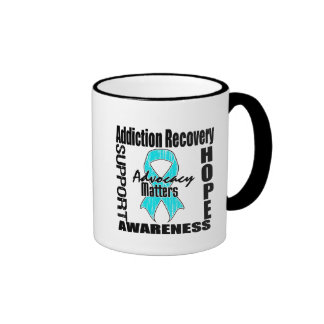 Advocacy Matters Addiction Recovery Ringer Coffee Mug