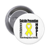 Advocacy Matters Suicide Prevention Pinback Buttons