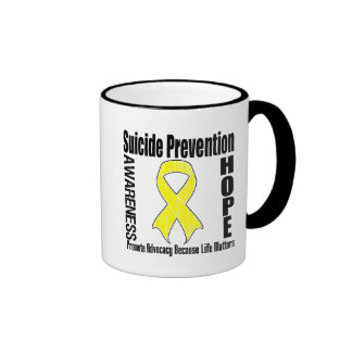 Advocacy Matters Suicide Prevention Ringer Mug
