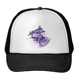 Advocacy Rocks Hodgkin's Lymphoma Trucker Hat