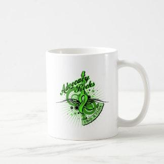 Advocacy Rocks Non-Hodgkin's Lymphoma Classic White Coffee Mug