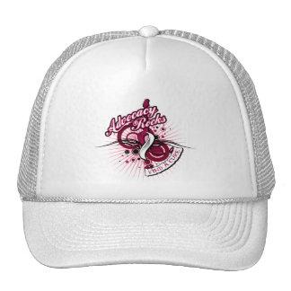 Advocacy Rocks Throat Cancer Trucker Hat