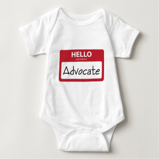 advocate 001 baby bodysuit