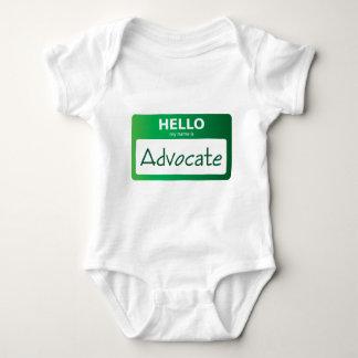 advocate 002 baby bodysuit
