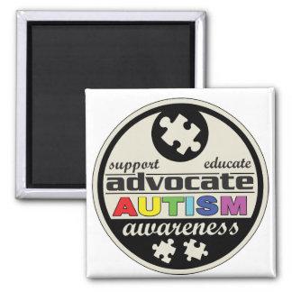 Advocate Autism Awareness Refrigerator Magnets