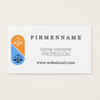 advocate business card