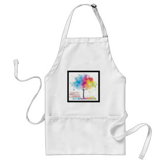 Advocate for art and parks! adult apron