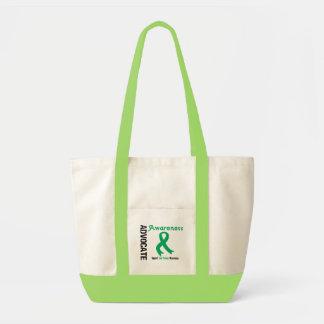 Advocate Liver Cancer Awareness Canvas Bags