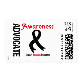 Advocate Melanoma  Awareness Postage Stamp