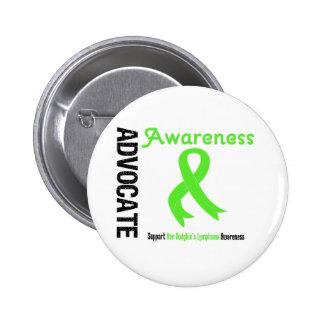 Advocate Non-Hodgkin's Lymphoma Awareness Buttons