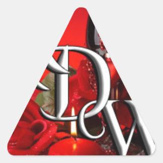 ADW Logo.jpg Triangle Sticker