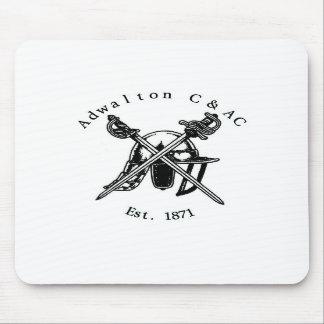 Adwalton CC Mouse mat with logo