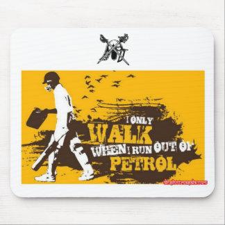 Adwalton CC Mousemat 'Only Walk...'