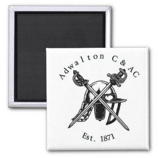 Adwalton CC Square Fridge Magnet